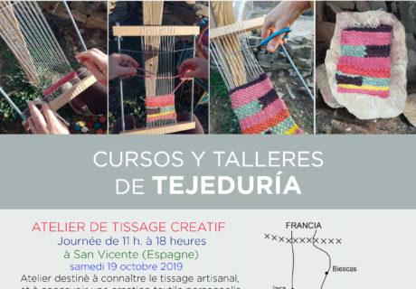 Atelier de tissage creatif