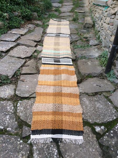las alfombras de cáñamo